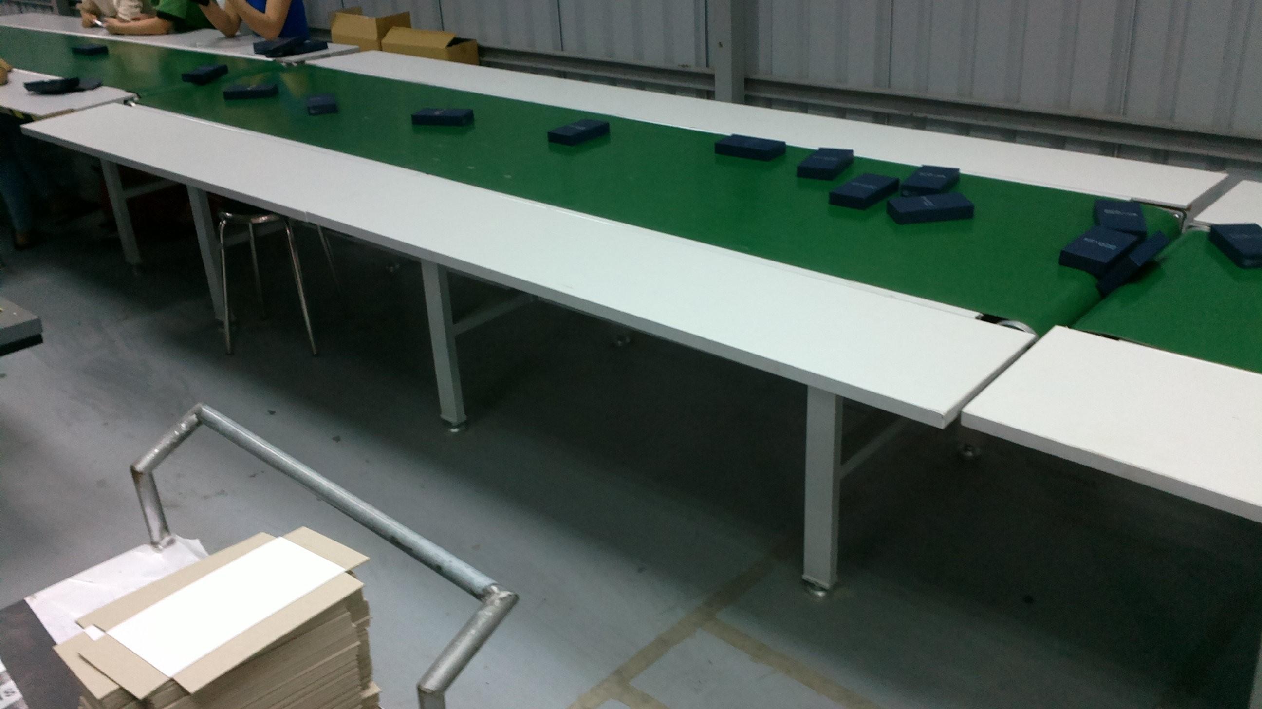 hệ thống khung băng tải PVC - điện tử, băng tải pvc sản xuất đồ điện tử
